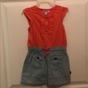DKNY little girls dress